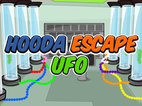 Hooda Escape Ufo Walkthrough