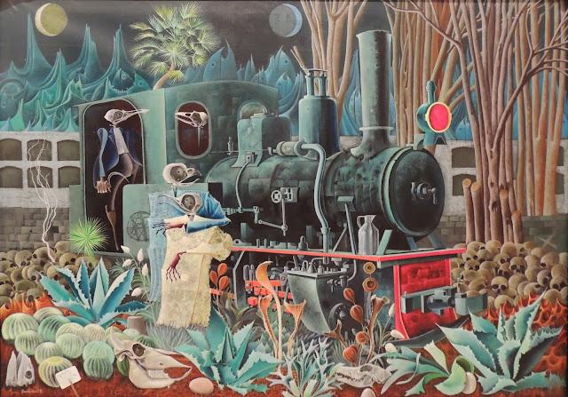 Josep María Rovira Brull óleo sobre lienzo los amantes