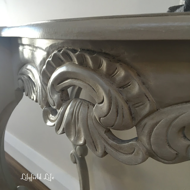 adding old world french patina to furniture Lilyfield Life