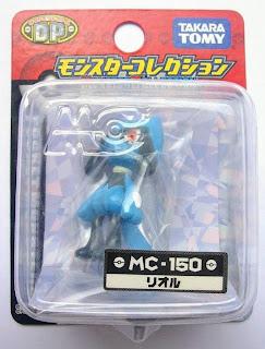 Riolu Pokemon figure Takara Tomy Monster Collection MC series
