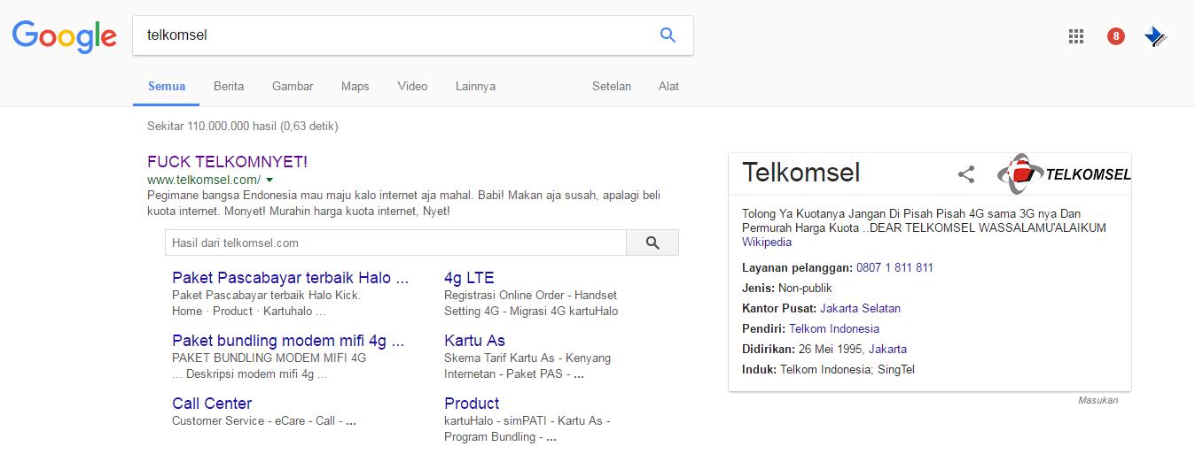 Situs Telkomsel Dibajak, Hacker Menyerukan Suara Hati Para Pengguna Telkomsel