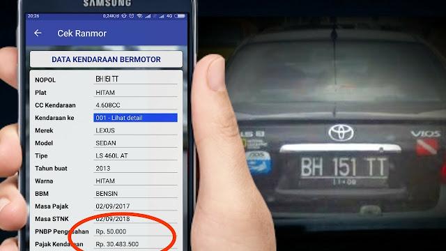 Cara Cek Pajak Kendaraan Secara Online dan Mudah