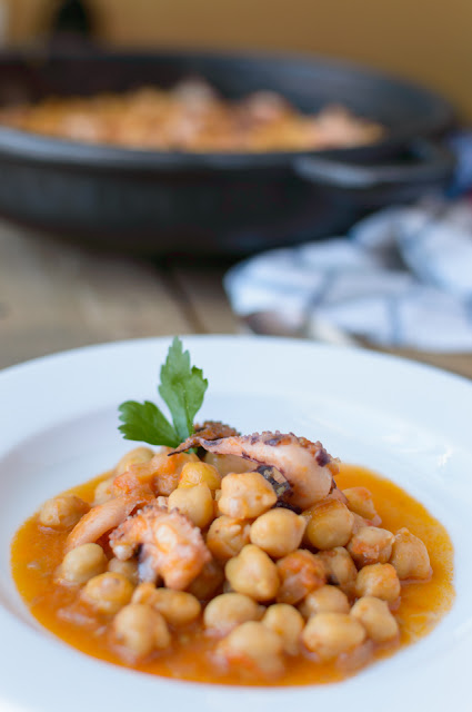 receta garbanzos