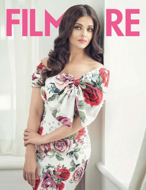 Actress, Model, @ Aishwarya Rai - Filmfare Magazine India June 2016