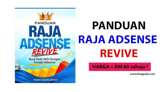 TAWARAN PANDUAN ADSENSE REVIVE UNTUK ANDA !