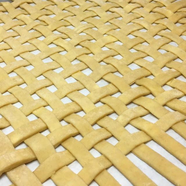 Close Up of Lattice Crust
