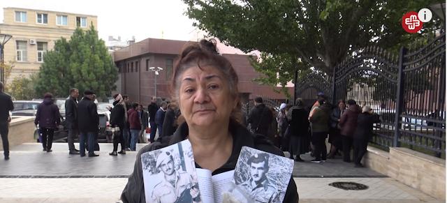 En Bakú piden compensación por soldados caídos en Karabaj