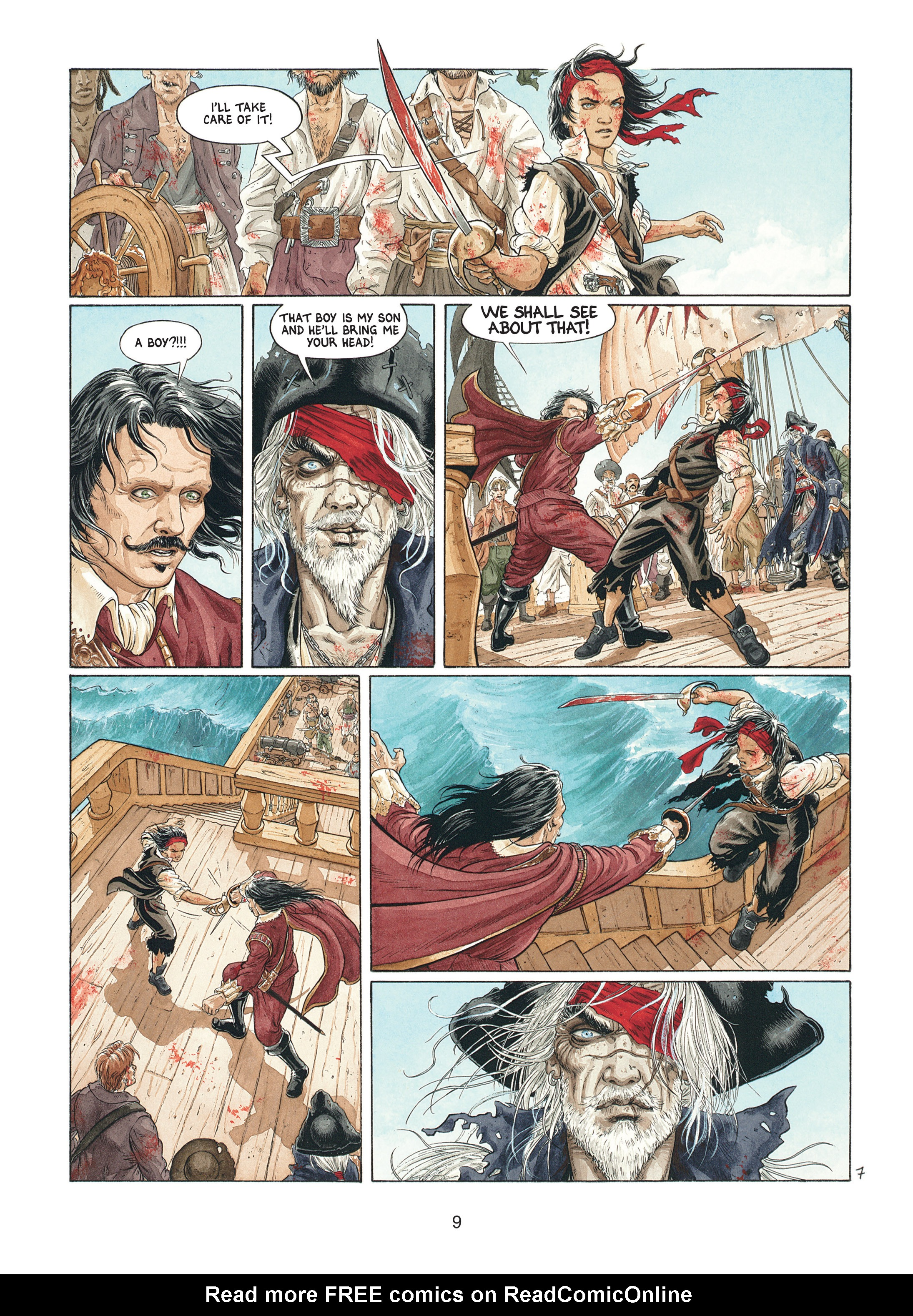 Read online Barracuda comic -  Issue #1 - 9