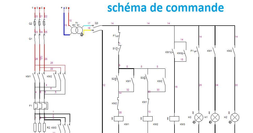 demarrage statorique 2 temps 2 sens electromecanique. Black Bedroom Furniture Sets. Home Design Ideas