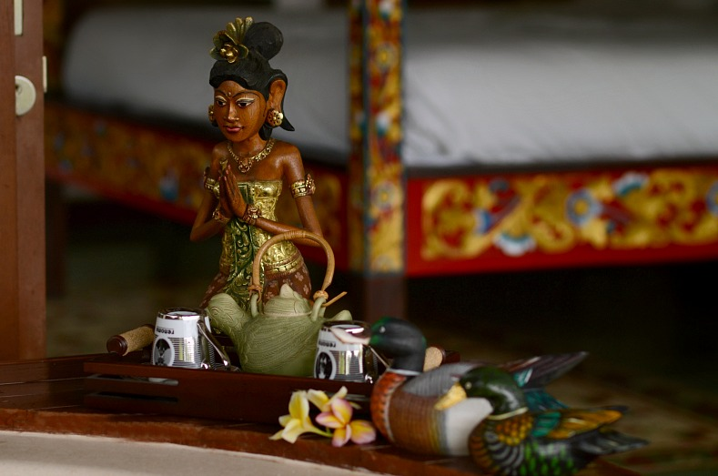 Tamara Chloé, Aqua Octaviana Bali Villa, Bali, Indonesia, Balinese art