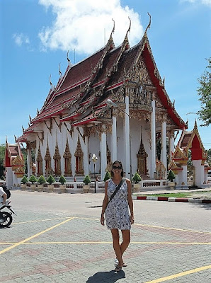 Photo of Ellis Derkx at Wat Chalong Temples, Phuket Island