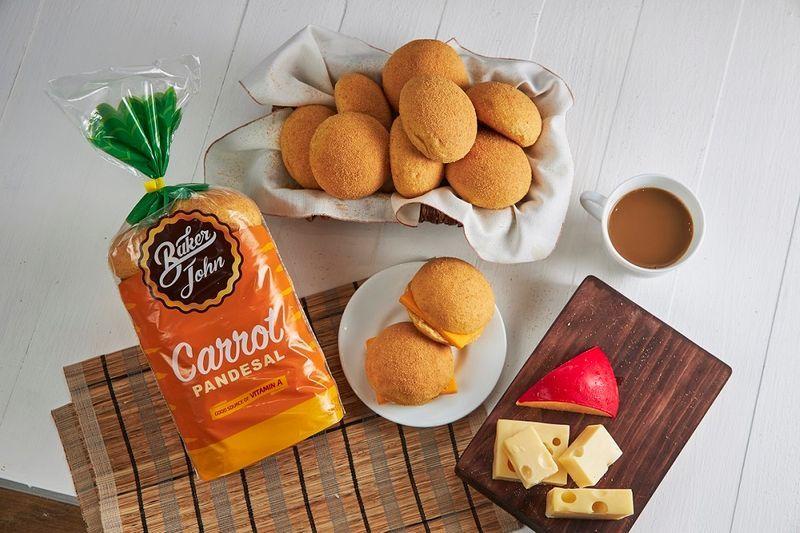 Baker John carrot pandesal for making easy sandwich recipes