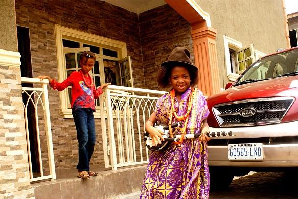OnePageAfrica ::: Amazing World Of A Three-Year-Old Nigerian