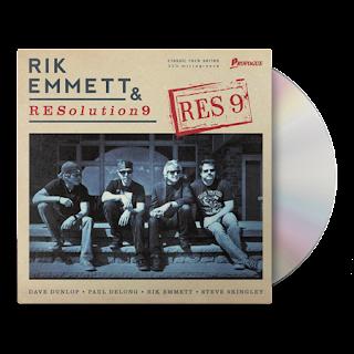 """Το τραγούδι των Rik Emmett & RESolution9 """"I Sing"""", στο οποίο συμμετέχει ο James LaBrie"""