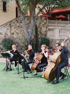 live music at wedding ceremony