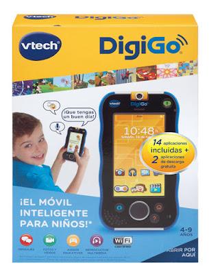 JUGUETES - VTECH DigiGo  Smart tablet educativo para niños   En azul o rosa | Edad: 4-9 años  Comprar en Amazon España