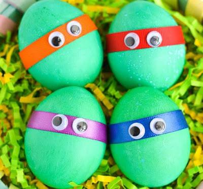 Декор пасхальных яиц, фото