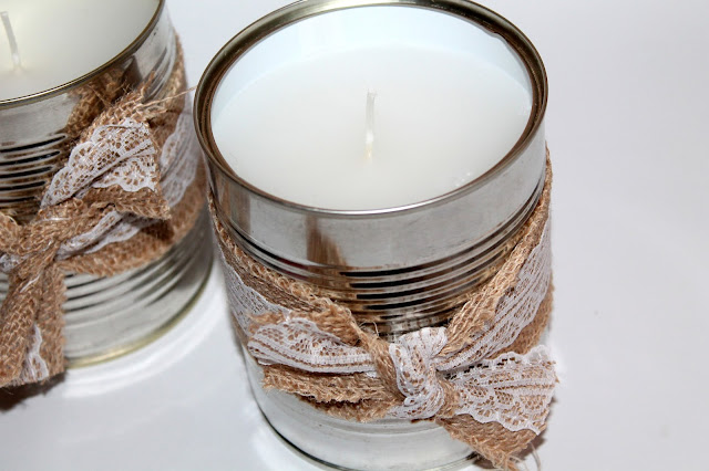 DIY, Basteln: Citronella Duftkerzen als Mückenschutz, als Geschenkidee und Wohndekoration - DIYCarinchen