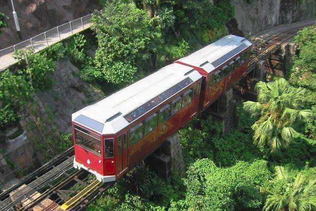 Wisata Hongkong Peak Tram