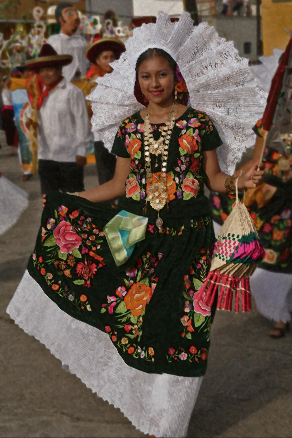 Oaxaca El Istmo De Tehuantepec Y El Vestido De Tehuana