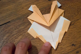 How to Fold Cute and Quirky Origami Sumo Wrestlers- Such an easy craft that kids can make!