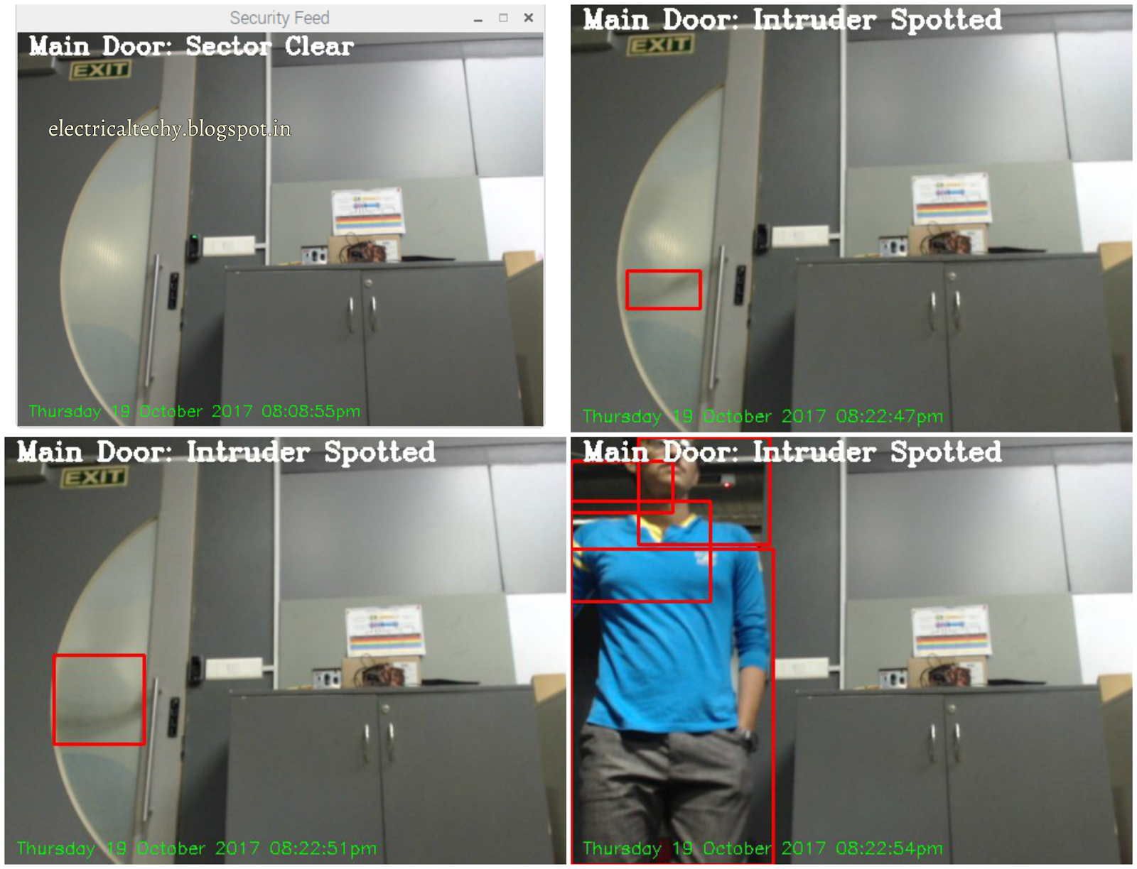 Electronics & Electrical Techy: Motion Detection | OpenCV