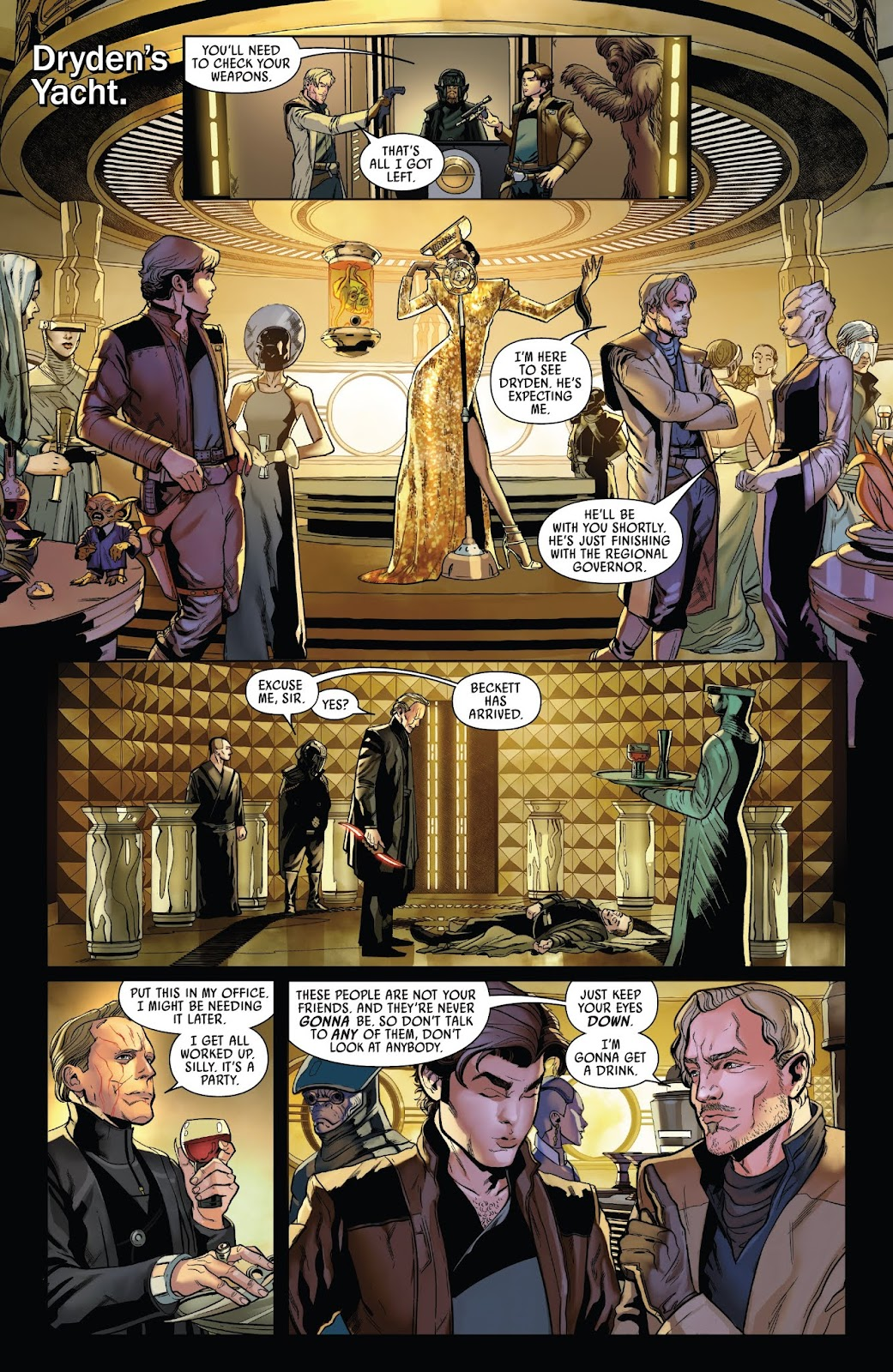 Read online Solo: A Star Wars Story Adaptation comic -  Issue #2 - 20
