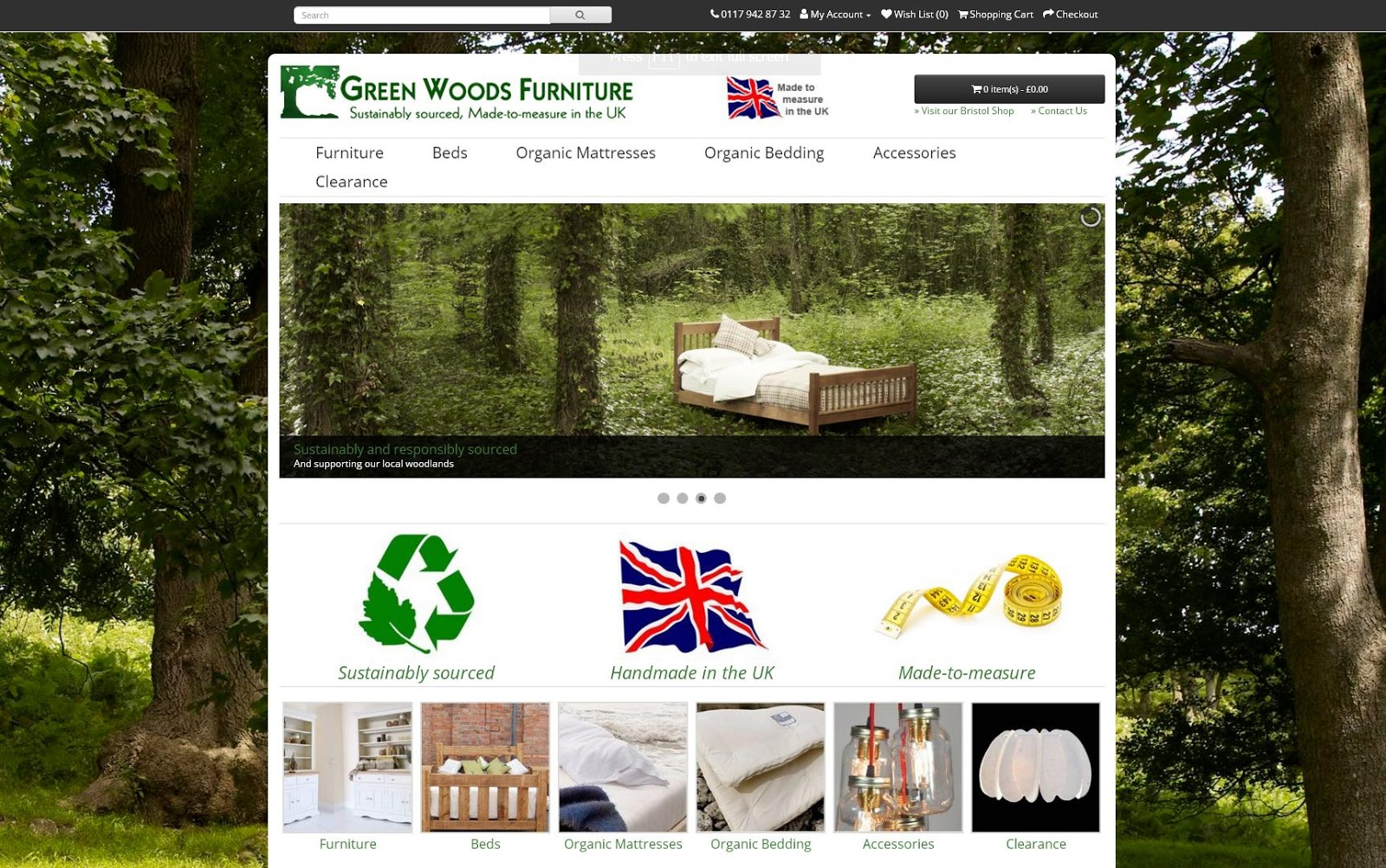 We Are Pleased To Reveal Our Newly Designed Website For Green Woods  Furniture!