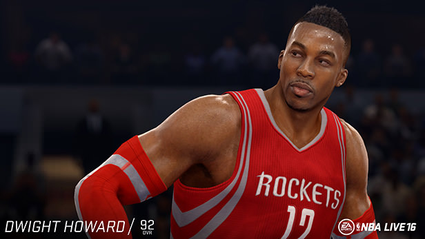 NBA Live 16 Dwight Howard