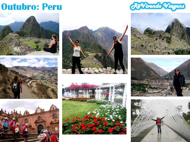 Peru Machu Picchu outubro