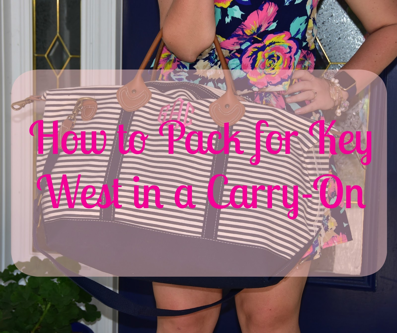 How to Pack for Key West in a Carry-On