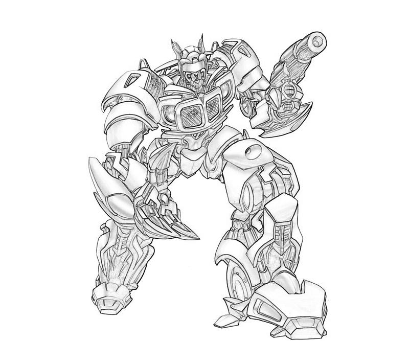 transformers cybertron coloring pages - photo#47