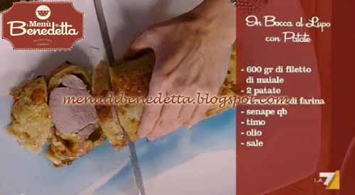 In Bocca Al Lupo Con Patate Ricetta Parodi Da I Menù Di Benedetta