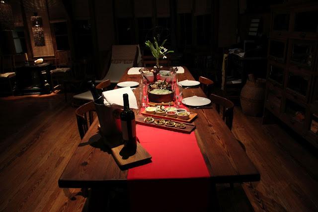 Cena para cuatro