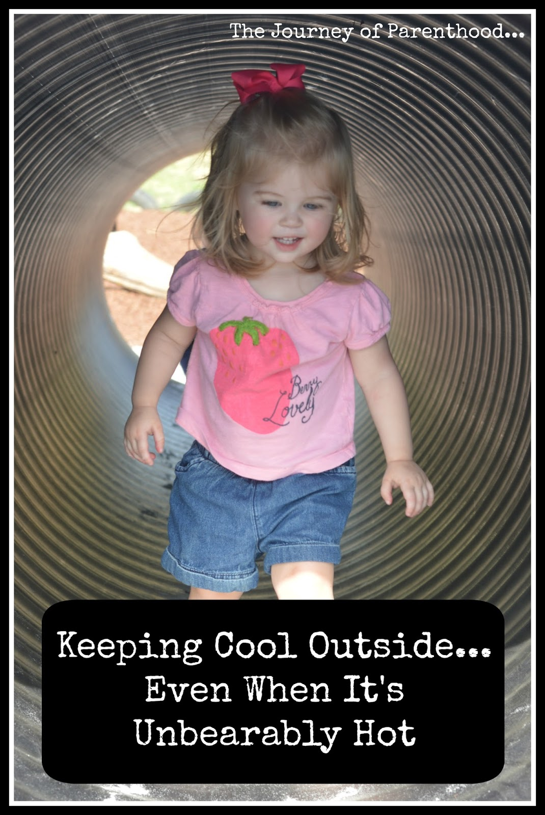 Keeping Cool Outside When It's Unbearably Hot