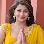 Nadeesha New Actress In Yellow Saree Pics