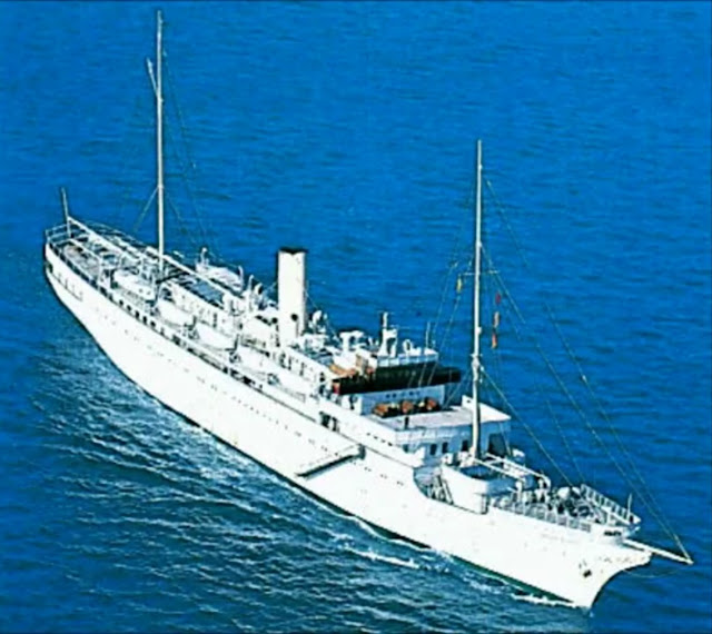 The peak of luxury cruising in the 50s and 60s STELLA POLARIS of CLIPPER LINE
