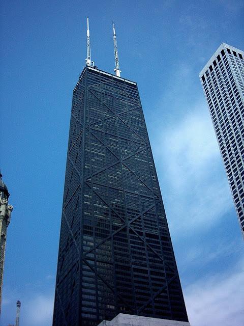 le John Hancock Center à Chicago