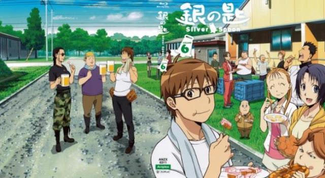 Daftar Anime School Comedy Terbaik dan Terpopuler - Gin no Saji
