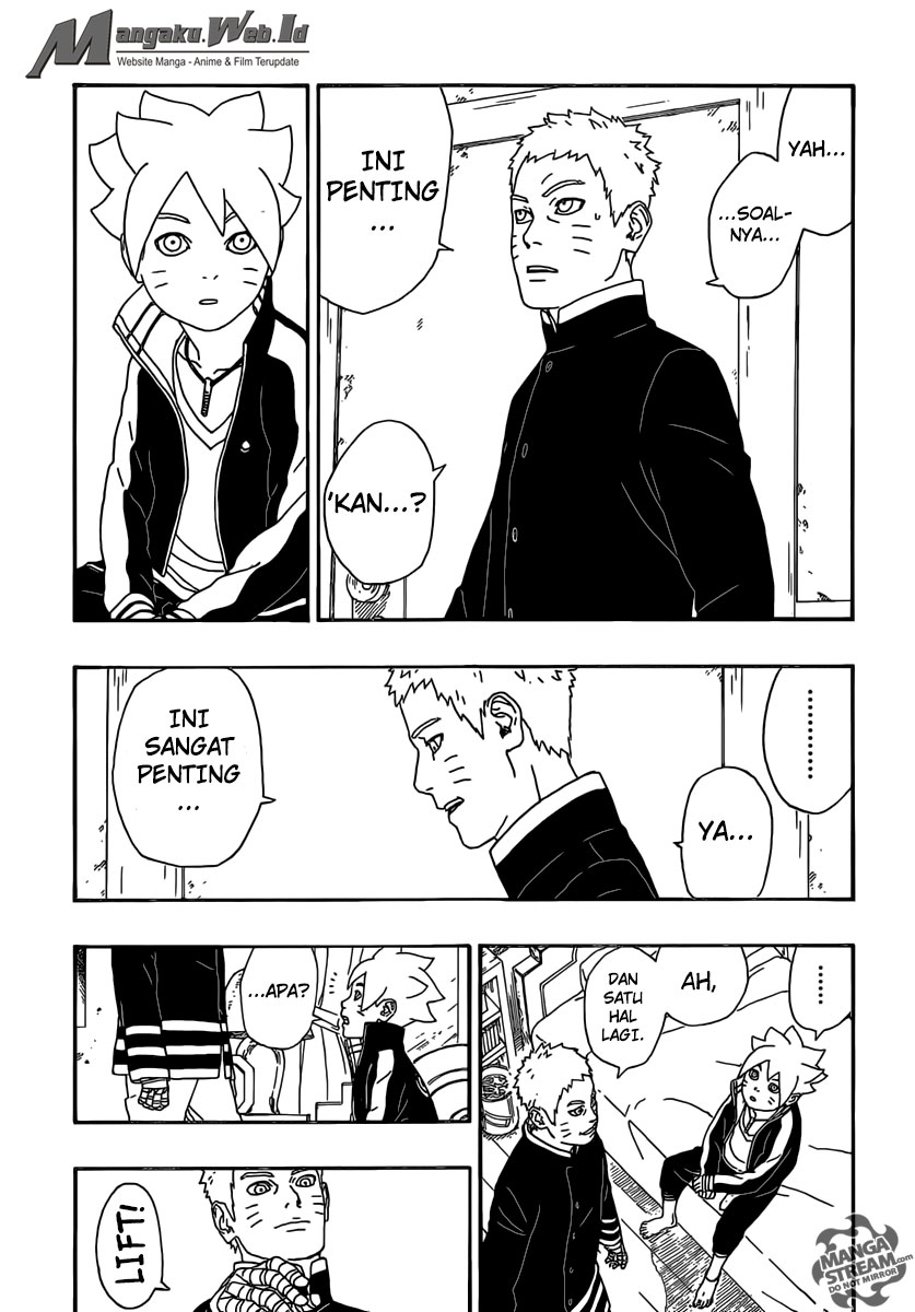 Baca Komik Boruto Chapter 4 Bahasa Indonesia