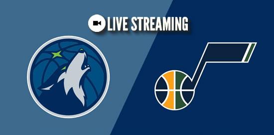 LIVE STREAMING: Minnesota Timberwolves vs Utah Jazz 2018-2019 NBA Season