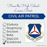 From the High School Lesson Book - Civil Air Patrol on Homeschool Coffee Break @ kympossibleblog.blogspot.com