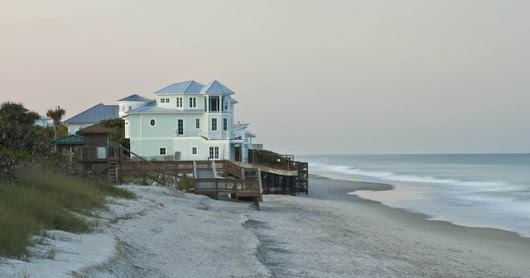 Atlantic Ocean excited to move into beautiful beachfront mansion soon