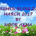 """SEGMEN BLOGLIST MARCH 2017 BY NOOR AKMA"""