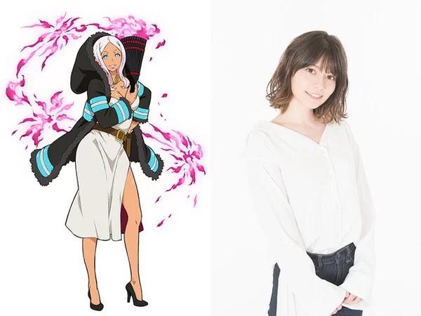 Lynn interpretará a la princesa Hibana. Ella es comandante de batallón de la Compañía 5. Ella tiene la personalidad de una reina dominante.