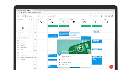 G Suite Updates Blog: Time for a refresh: meet the new Google Calendar for web