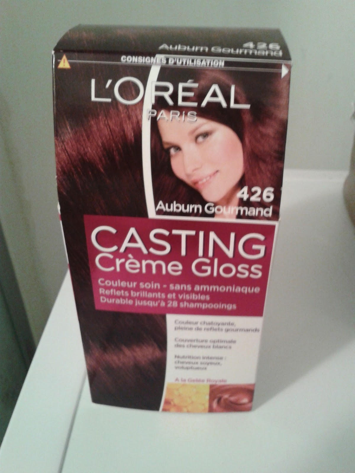 l oreal casting creme gloss instructions