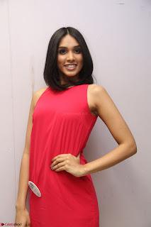 Spatika Surapaneni in Red Tight Dress at FBB Miss India 2017 finalists at Telangana auditions Feb 2017 (50).JPG