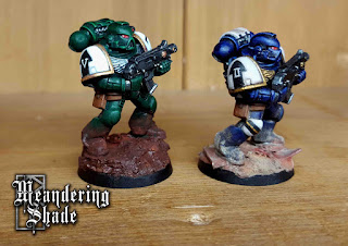 Space Marine Painting Warhammer 40k Competition Completed Guardians Celeres Angels Revenant
