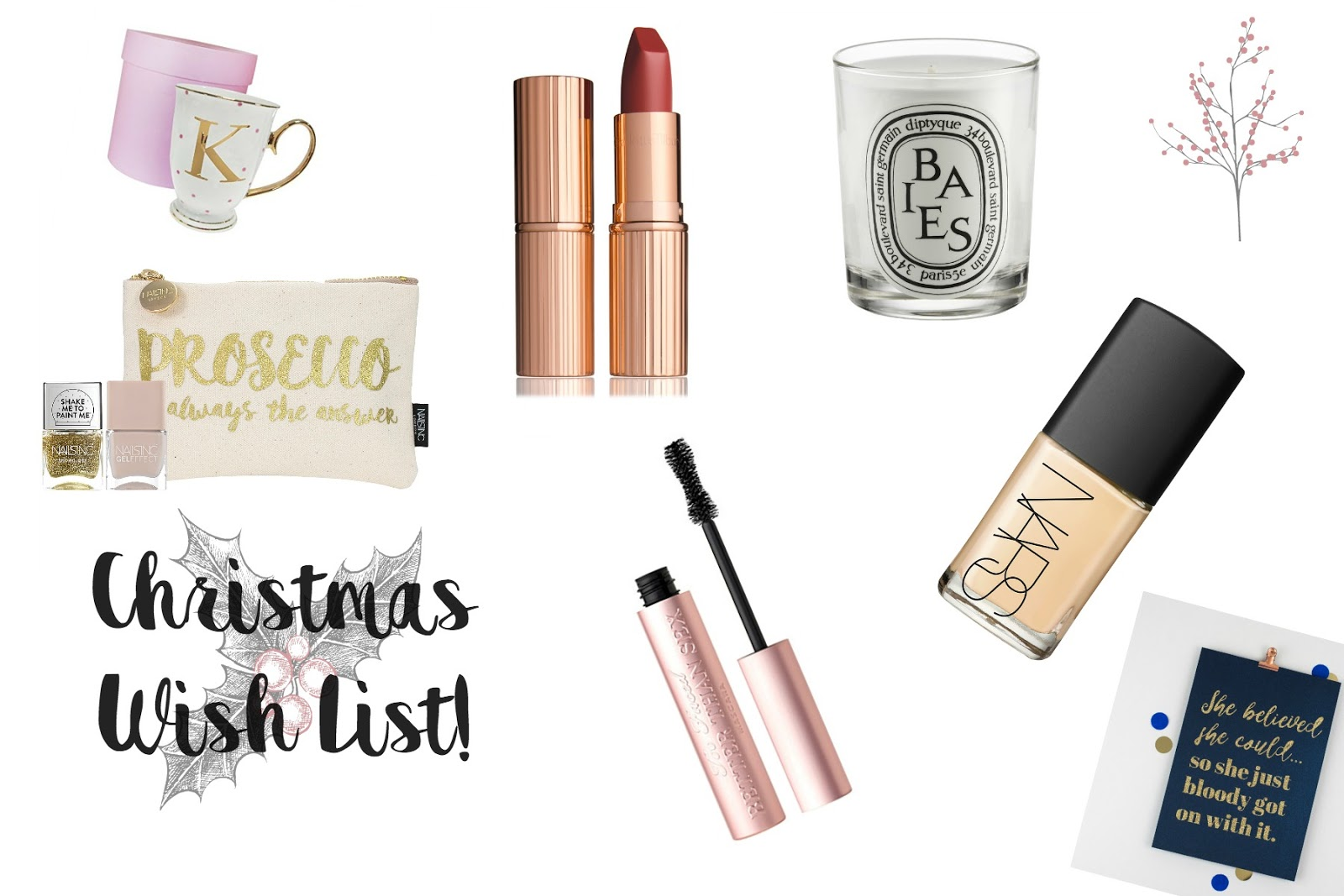 Christmas Wish List, Wishlist, Christmas Gift Ideas, Katie Writes,